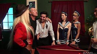 Double penetration choreograph sex with provocative dame Antonia Deona