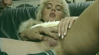 Anal fingering is what big racked auburn pigtailed GF deserves