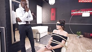 Painful anal sex be required of a dutiful MILF via her first interracial game