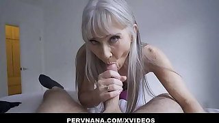 Perv Granny Leilani Lei Gives A Surprising Bestow