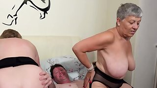 AgedLovE Two Busty British Matures Fuck Team a few Learn of