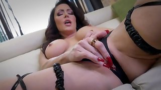 Jessica Jaymes loves feeling her warm pussy getting all wet