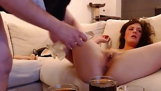 Hardcore - Analfuck , Blowjob with the addition of Dildoplay