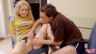 Nina Hartley hot granny pornstar sex glaze