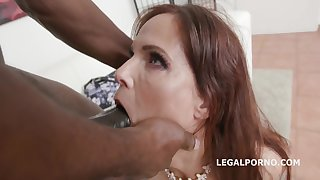 Vampish Mature Gets Creampied Off out of one's mind Big Black Dick - syren de mer